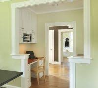 alcove office. alcove desk ideas home office craftsman with black table green wall decorative molding a