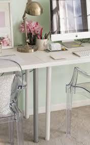 ikea one leggy gold desk dream