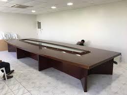 Boardroom Table Designs China Modern Melamine Office U Shaped Meeting Table