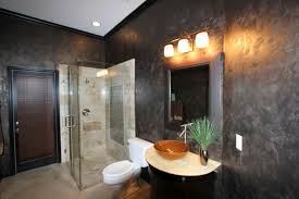interesting home interior wall design with metallic wall paint ideas heavenly bathroom decoration ideas using