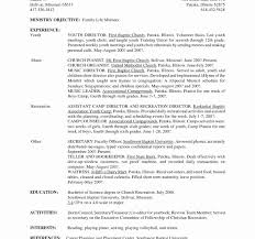 Secretary Resume Sample Sample Resume for Unit Secretary In A Hospital New Medical 33