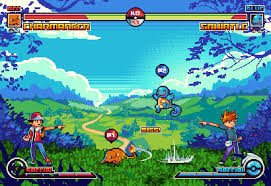 midio on twitter following last week s mockup decided to make a new one a pokémon fighting game is a game i d love to play t co zno2idjwt3