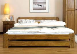 Wooden King Bed Solid Wood King Size Bed Frames King Size Wooden Bed ...