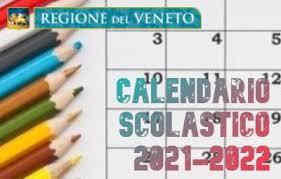 Calendario per l'anno scolastico 2021-2022 | Provincia di Padova