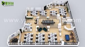 Office Design Plan 3d 3d Office Floor Plan Design Ideas By Yantram On Behance