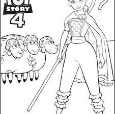 Toy Story 4 Disegno Bo Peep Da Stampare E Colorare Cartoni Animati