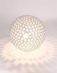 ball table lamp. acrylic ball table lamp with foter and 5 9 on category 287x366 287x366px