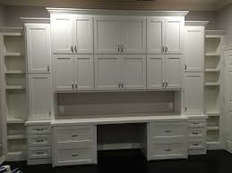 home office cabinetry. Shaker 3 Tiered Storage Cabinet With Lateral Files, Work Space And Open Shelves Home Office Cabinetry T