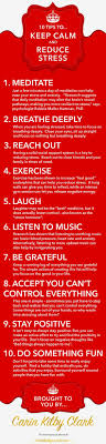 17 best ideas about stress management activities 10 tips to keep calm reduce stress infographic