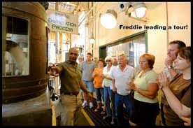 Freddie Johnson for the Kentucky Bourbon Hall of Fame in 2018 — The ABV  Network