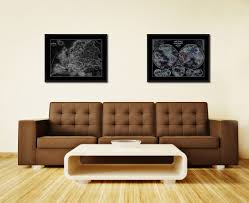 map of decor wooden united states map wall art ancient europe vintage monochrome map