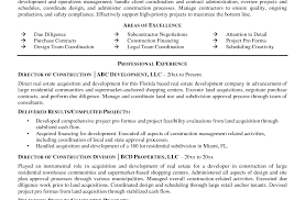 Construction Superintendent Resume Histology Assistant Sample