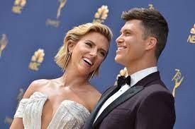 Colin Jost and Scarlett Johansson's ...