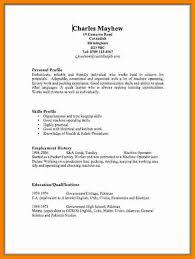 Cv Ideas Examples 9 Cv Ideas Examples Theorynpractice