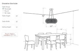 chandelier size for dining room table chandelier size for dining room chandelier size for dining room