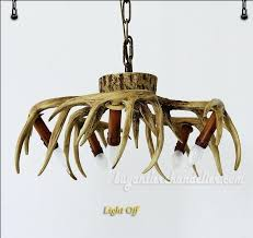 deer antler lights the