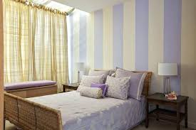 Striped Wall Bedroom Charming Bedroom With Purple Striped Walls Grey And White  Striped Bedroom Wall