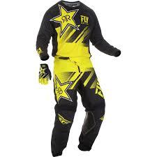 Fly Racing 2019 Kinetic Rockstar Jersey Pant Glove Combo