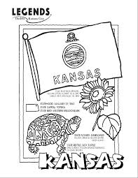 Small Picture Kansas State Animal Bird And Flower Coloring Coloring Pages