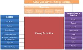 Organisational Structure Oil Gas Services Group Limited