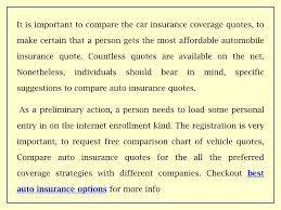 Ppt Effective Car Insurance Quote Comparison Powerpoint