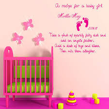 baby girl wall art