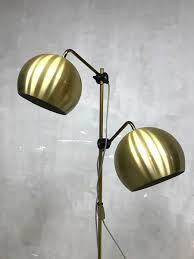 Vintage Messing Vloerlamp Brass Floorlamp Anvia