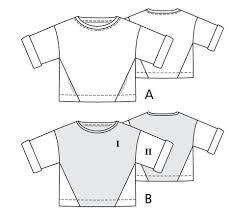 Sweatshirt Pattern Best Easy Sweatshirt 4848 48A Sewing Patterns BurdaStyle