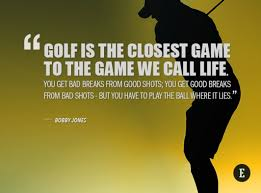 Golf And Life Quotes Unique The Masters 48 Inspirational Golf Quotes For Entrepreneurs