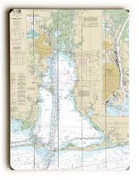 Shinnecock Bay Nautical Chart Al Mobile Bay Al Nautical Chart Sign In 2019 Nautical