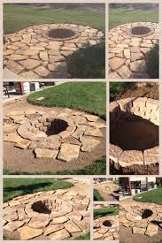 Stacked Stone Fire Pit best 25 stone fire pits ideas only firepit ideas 8504 by uwakikaiketsu.us