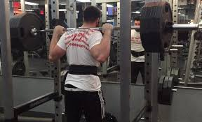 using the a7 bar grip full on squats
