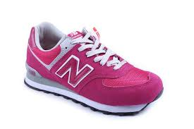 new balance pink sneakers. women new balance wl574san retro lovers trainers white pink sneakers