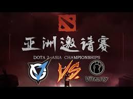 ig vitality vs team vgj dota 2 asia championships 2017 live