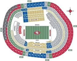 49ers Seating Chart Prices 49ers Stadium Seats Pricing Chart Levis Seating 3d Noahd