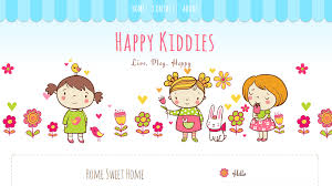 Cute Template Happy Kiddies Cute Blogspot Template Ipietoon Cute Blog Design