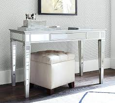 mirrored office furniture. Park Mirrored Desk Pottery Barn Office Furniture Home