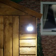 shed lighting battery. outdoor battery operated white security light with pir sensor shed lighting t