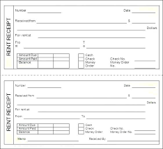 Free Book Template For Word Printable Receipt Book Template Word Rent Free Doc Print
