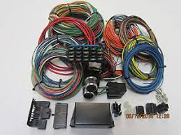 21 circuit 20 fuse universal wiring harness streetrod car, truck Universal Ford Wiring Harness image is loading 21 circuit 20 fuse universal wiring harness streetrod universal ford wiring harness kit