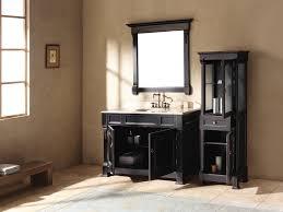 Taps Bathroom Vanities Blurry Glass Door For Black Bathroom Vanity Design With Double