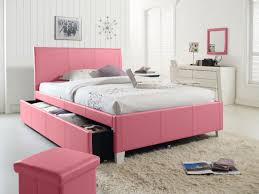 ... Kids Furniture, Trundle Beds For Girls White Trundle Bed Full Pink  Bedroom Sets With Chairs ...
