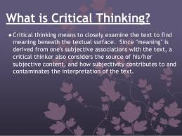 Critical Thinking in Nursing Practice  NA ND PNCar