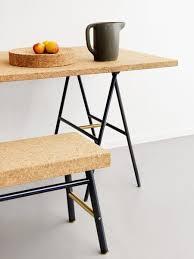 cork furniture. sinnerlig cork table and bench by ikea isle crawford furniture g
