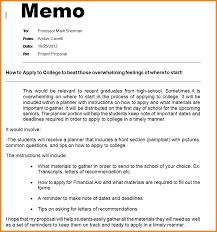 Memo Proposal Format Business Memorandum Example Memog Letterhead Template Memo