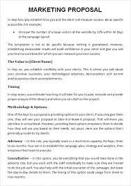 9 Advertising Agency Proposal Template Sample Letter Mediaschool Info