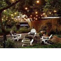 backyard string lighting. Patio And Garden String Lights Backyard Lighting