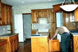 how to refinish wood cabinets yourself office cabinet refinishing paint kitchen refacing