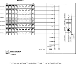 solar power system feasibility study chapter 3 grid connected figure 3 18 typical solar subarray system s single line wiring diagram