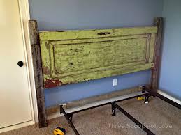 Five Panel Door Headboard How To Turn An Old Door Into A Headboard Doors Interiors And